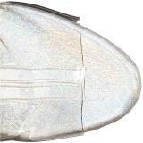 Transparent 15 cm STARDANCE-1018C-7 bottines plateforme pour femmes