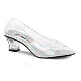 Transparent 5 cm CRYSTAL-103 Chaussures Escarpins de Soirée