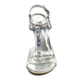 Transparent Cristal 11,5 cm CLEARLY-426 Sandales de Soirée a Talon