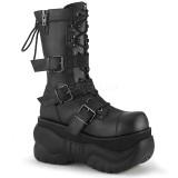 Vegan 10 cm BOXER-230 bottes demonia - bottes de cyberpunk unisex