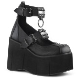 Vegan 11,5 cm Demonia KERA-12 chaussures lolita plateforme