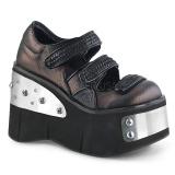 Vegan 11,5 cm Demonia KERA-13 chaussures lolita plateforme