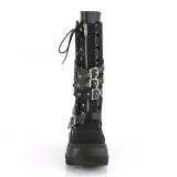 Vegan 11,5 cm SHAKER-71 demonia bottes talon compensé