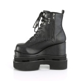 Vegan 12,5 cm ETERNAL-106 bottines plateforme lolita