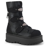 Vegan 5 cm SLACKER-101 bottines demonia plateforme