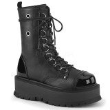 Vegan 5 cm SLACKER-150 bottines demonia plateforme