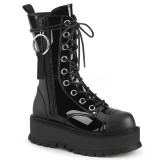 Vegan 5 cm SLACKER-220 bottines demonia plateforme