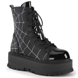 Vegan 5 cm SLACKER-88 bottines demonia plateforme