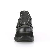 Vegan 7,5 cm NEPTUNE-50 Chaussures Demonia Gothiques Hommes