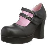 Vegan 9,5 cm Demonia GOTHIKA-09 chaussures plateforme lolita