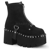 Vegan 9 cm ASHES-100 bottines demonia plateforme