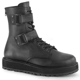 Vegan VALOR-250 bottines demonia - bottines de combat unisex
