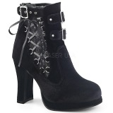 Velours 10 cm DEMONIA CRYPTO-51 plateforme bottines femmes
