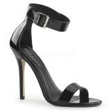 Verni 13 cm AMUSE-10 chaussures travesti