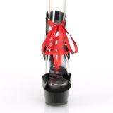 Verni 15 cm DELIGHT-600-14FH sandales pleaser plateforme corsage