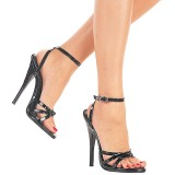 Verni 15 cm DOMINA-108 chaussures fetish à talons