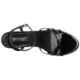 Verni 15 cm Devious DOMINA-108 sandales à talons aiguilles