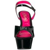Verni 15 cm KISS-209TT Plateforme Neon Sandales Femmes