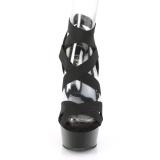 Verni 15 cm Pleaser DELIGHT-657 sandales plateforme