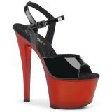 Verni 18 cm SKY-309T sandales pleaser plateforme