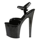 Verni 19 cm Pleaser TABOO-709MG chaussures à talons etincelle