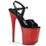 Verni 20 cm FLAMINGO-809T chaussures pleaser talons hauts