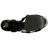 Verni 20 cm FLAMINGO-831 Plateforme Chaussures Talon Haut
