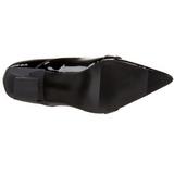 Verni 6,5 cm SALEM-06 chaussures escarpins du sorcière petit talon