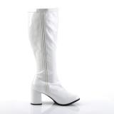 Verni 7,5 cm GOGO-300X bottes femme mollets et jambes larges