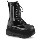 Verni 7,5 cm NEPTUNE-200 bottines demonia - bottines plateforme unisex