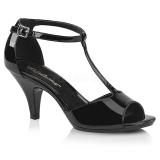 Verni 8 cm Fabulicious BELLE-371 sandales à talons aiguilles