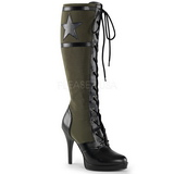 Vert 11,5 cm FUNTASMA ARENA-2022 Bottes à Lacets Femmes