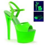 Vert Neon 18 cm Pleaser SKY-309UV Plateforme Haut Talon