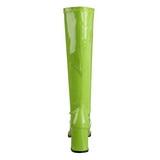 Vert Verni 8,5 cm Funtasma GOGO-300 Bottes Femmes