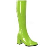 Vert Verni 8,5 cm GOGO-300 Bottes Femmes pour Hommes