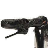 Vinyle 18 cm BALLET-3000 fétiche cuissardes bottes brillantes