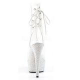 Vinyle pierre cristal 15 cm BEJEWELED-1018DM plateforme bottines femmes