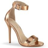 or rose 13 cm Pleaser AMUSE-10 sandales à talons aiguilles