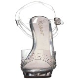 pierre strass 13 cm LIP-108SD sandales à talons aiguilles