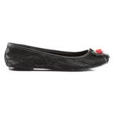 tissu en dentelle STAR-25 chaussures ballerines gothique talons plates